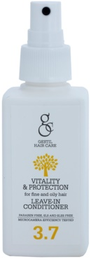 Gestil Vitality & Protection acondicionador sin aclarado para cabello fino y graso