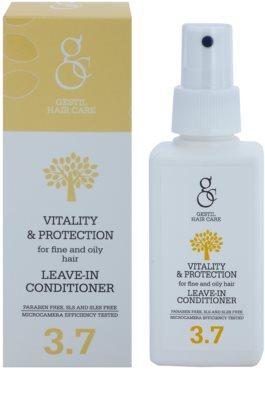 Gestil Vitality & Protection незмиваючий кондиціонер для тонкого та жирного волосся 1