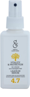 Gestil Vitality & Protection serum revitalizante para cabello teñido y dañado
