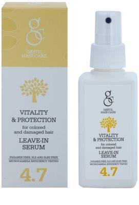 Gestil Vitality & Protection ser revitalizant pentru par vopsit si deteriorat 1