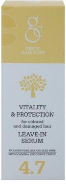 Gestil Vitality & Protection ser revitalizant pentru par vopsit si deteriorat 2