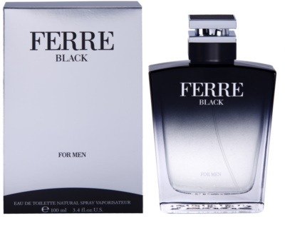 Gianfranco Ferré Ferré Black eau de toilette férfiaknak