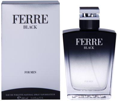 Gianfranco Ferré Ferré Black Eau de Toilette pentru barbati