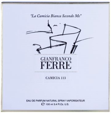 Gianfranco Ferré Camicia 113 parfumska voda za ženske 1