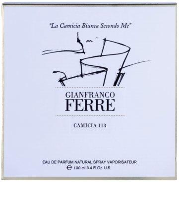 Gianfranco Ferré Camicia 113 eau de parfum nőknek 1