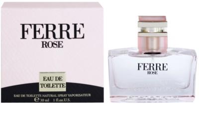 Gianfranco Ferré Ferré Rose Eau de Toilette pentru femei