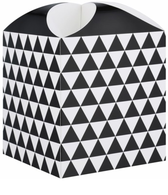 Giftino pudełko na prezenty gwiazda geometry (121 x 155 x 121 mm)