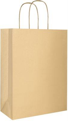 Giftino torebka na prezent eco złota duża (220 x 290 x 100 mm)