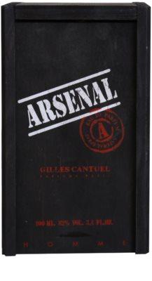 Gilles Cantuel Arsenal Black eau de parfum para hombre 4
