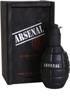 Gilles Cantuel Arsenal Black woda perfumowana dla mężczyzn 1