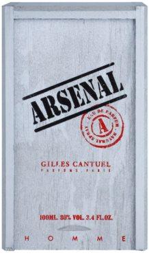 Gilles Cantuel Arsenal Platinum Eau de Parfum para homens 4