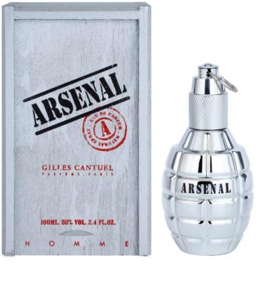 Gilles Cantuel Arsenal Platinum Eau de Parfum para homens