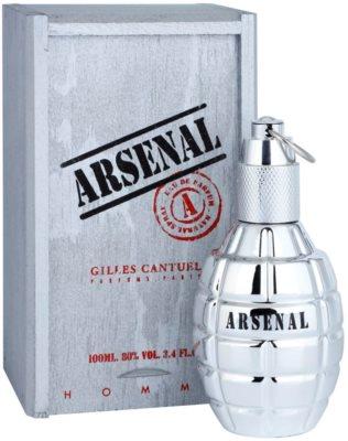 Gilles Cantuel Arsenal Platinum Eau de Parfum para homens 1