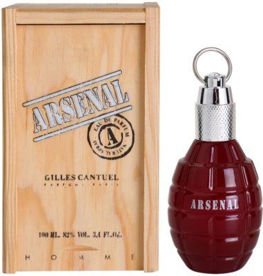 Gilles Cantuel Arsenal Red eau de parfum férfiaknak