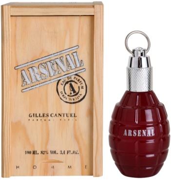Gilles Cantuel Arsenal Red Eau De Parfum pentru barbati