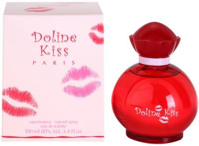 Gilles Cantuel Doline Kiss toaletná voda pre ženy