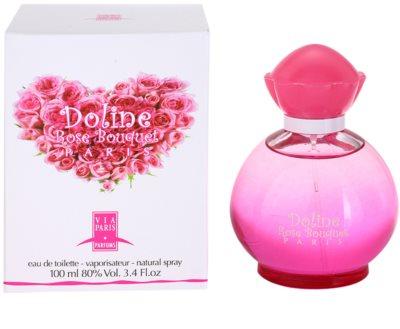 Gilles Cantuel Doline Rose Bouquet Eau de Toilette para mulheres