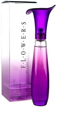 Gilles Cantuel Flowers Purple Eau de Toilette para mulheres 2