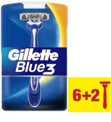 Gillette Blue 3 lâminas de barbear descartáveis