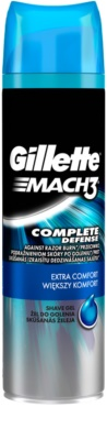Gillette Mach 3 Complete Defense gel de afeitar