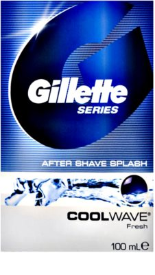 Gillette Series Cool Wave aftershave water 1