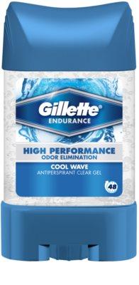 Gillette Endurance Cool Wave gel antitranspirante