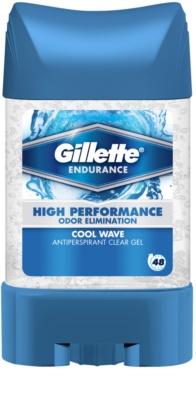 Gillette Endurance Cool Wave gelový antiperspirant