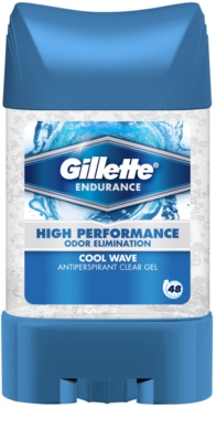 Gillette Endurance Cool Wave гелевий антиперспірант