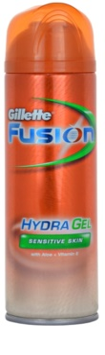 Gillette Fusion Hydra Gel gel de afeitar para pieles sensibles