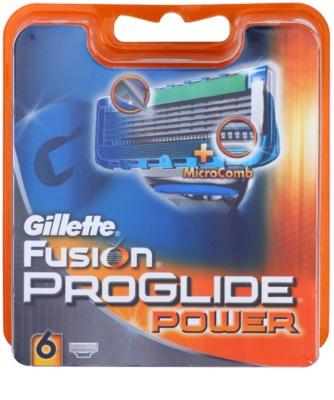 Gillette Fusion Proglide Power Ersatzklingen  6 Stück