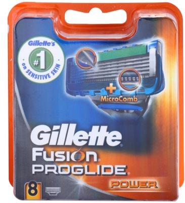 Gillette Fusion Proglide Power Ersatzklingen  8 Stück