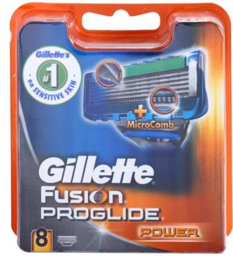Gillette Fusion Proglide Power náhradní břity 8 ks