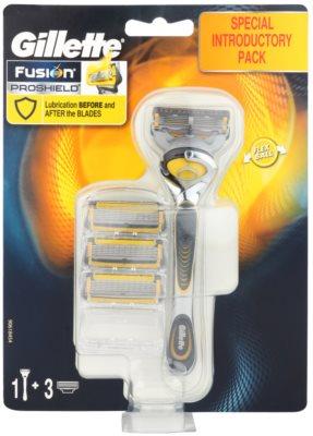 Gillette Fusion Proshield maquinilla de afeitar + recambios de cuchillas 3 uds