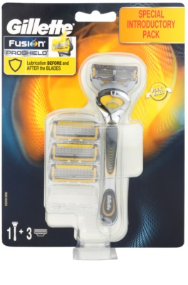 Gillette Fusion Proshield Rasierer Ersatzklingen 3 pc
