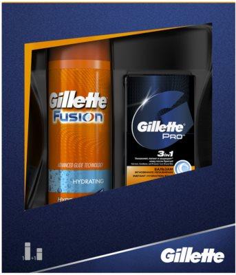 Gillette Fusion zestaw kosmetyków I.