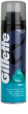 Gillette Gel borotválkozási gél az érzékeny bőrre
