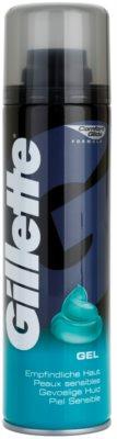 Gillette Gel gel za britje za občutljivo kožo