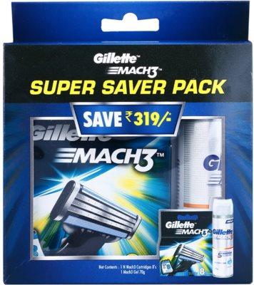 Gillette Mach 3 Spare Blades kozmetični set I.