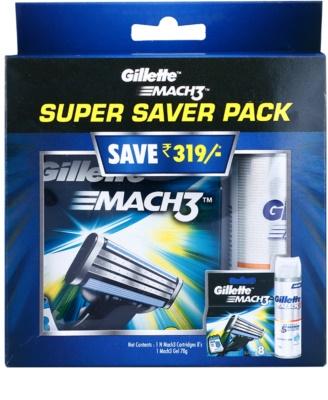 Gillette Mach 3 Spare Blades set cosmetice I.