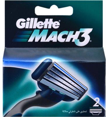 Gillette Mach 3 Spare Blades recambios de cuchillas