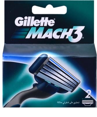 Gillette Mach 3 Spare Blades recarga de lâminas