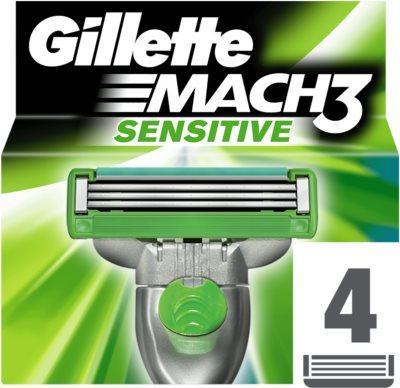 Gillette Mach 3 Sensitive tartalék pengék