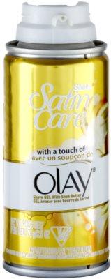 Gillette Satin Care Olay borotválkozási gél bambusszal 1