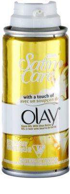 Gillette Satin Care Olay gél na holenie s bambuckým maslom 1