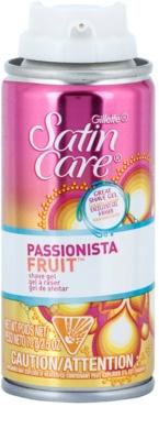 Gillette Satin Care Passionista Fruit Rasiergel für Damen 1