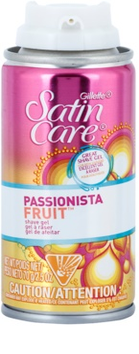 Gillette Satin Care Passionista Fruit гель для гоління для жінок 1