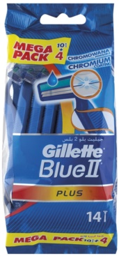 Gillette Blue II Plus eldobható borotva