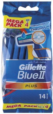 Gillette Blue II Plus одноразові бритви