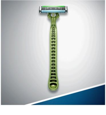Gillette Blue 3 Sense Care Einweg-Rasierapparat 4