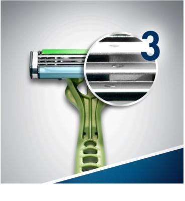 Gillette Blue 3 Sense Care Einweg-Rasierapparat 7